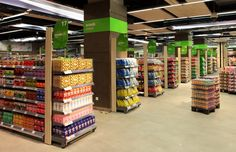 Group rkd retail/iQ is professionals dancing to the same beat, your retail business. We believe retail people are born, not made. Supermarket Design, Retail Store Design, Convinience Store, Pub Interior, Fruit Shop, Pop Design, Grocery Store, Bookstores, Facades