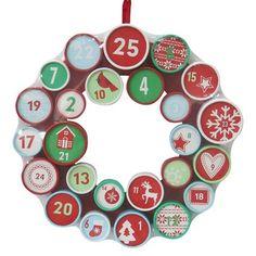 Threshold Advent Calendar Wreath