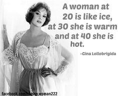 GINA LOLLOBRIGIDA QUOTES image quotes at BuzzQuotes.com