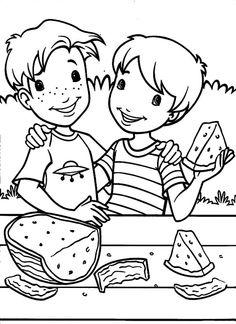 Holly Hobbie Tegninger til Farvelægning. Printbare Farvelægning for børn. Tegninger til udskriv og farve nº 22