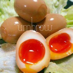 保存版☆味付き半熟 卵味付き半熟卵があるだけでレパートリーは広がりますよね。しっかり味のついた半熟卵をそのまま食べても最高!ごはんが進む!お酒のお供にもピッタリ!今日はみんな大好き味付き半熟卵のレシピをご紹介します。とっても美味しくてやめられません♡