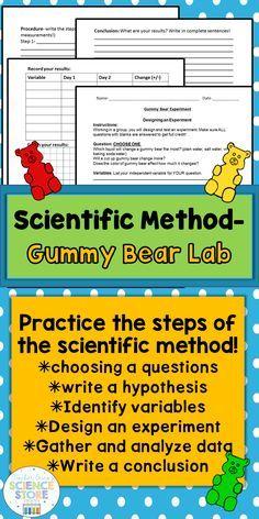 the scientific method reading comprehension worksheets