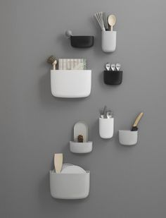 Organizér Pocket 3 od Normann Copenhagen, šedý   DesignVille