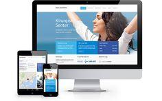 Alle Klinikken AS Oslo, Web Design, Projects, Log Projects, Design Web, Site Design, Website Designs