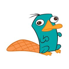 Perry the platypus czyli Pepe Pan Dziobak. Cartoon Characters Names, Phineas And Ferb Perry, Cartoon Caracters, Perry The Platypus, Cartoon Painting, Cute Disney, Character Drawing, Character Names, Childhood