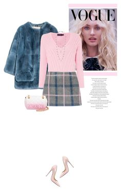 """Pretty In Pink"" by marion-fashionista-diva-miller ❤ liked on Polyvore featuring Marni, Polo Ralph Lauren, Moschino, Lucky Brand, Christian Louboutin, women's clothing, women, female, woman and misses"