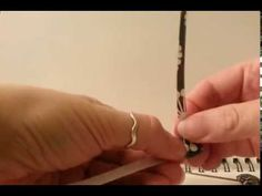 Making of a Pillow Paper Bead (Square Bead) - no commentary, nice music.  Looks…