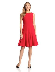 Calvin Klein Women's Sleeveless Solid Flare Dress  $80.10 http://www.amazon.com/dp/B00HZF8YZ6/?tag=httplorealbew-20