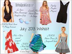 july 2013 wishlist - DoYouSpeakGossip.com