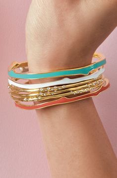Carrie Bangles - Stella & Dot...Bridal Party jewelry?