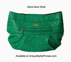 Dena for Demi Miche Bags Imagine the rich green of a dew-dropped rainforest at dawn. That cool, refreshing color is perfectly captured in the Dena for Demi Miche bags.