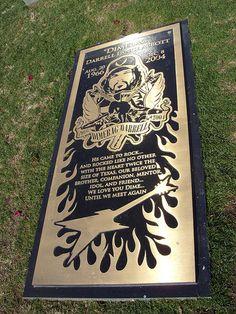 Dimebag Darrell Abbott by Penfold the Hamster, via Flickr Vinnie Paul, Cowboys From Hell, Dimebag Darrell, We Meet Again, Music Is Life, Guitars, Guitar
