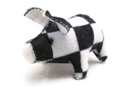 Oh, Speedy wanted to be a racing pig so badly! The only problem, he was the slowest racing pig ever. He didn't quite have enough stamina to even finish a race. How disappointing for Speedy.