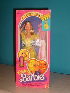 Kissing Barbie