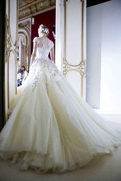 Beautiful wedding gown...