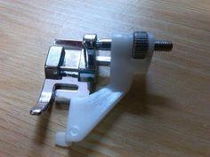 Suela para dobladillos invisibles y jaretas, consuguela en www.maquinasdecoserdori.com, te enseñan a usarla