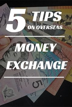 Over our travels we have learnt some handy tips on money exchange that I'd love to share with you so that on your next family vacation you will be able to stretch your dollar further (or whatever currency you use)... Find our 5 best tips on money exchange while travelling overseas. Travel Tips.