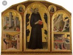 Beato Agostino Novello.  Pinacoteca Nazionale di Siena