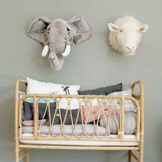Trofeo Peluche Elefante Baby Decoanimal Headskidsroombaby