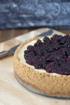 New York-Style Blueberry Cheesecake   Wishes and Dishes