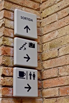 Signage from Caixa Forum museum in Barcelona, Created by Ivana Vasilj from Croatia.