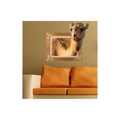 Art Mural - Stickers Muraux - 3D Sticker mural - Art Wall Paper 3D Camel revêtements muraux PVC lavables mur Sticker Mural, Art Mural, Stickers, Furniture, Home Decor, Wall Cladding, Decoration Home, Room Decor, Home Furnishings