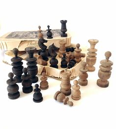 Handmade Chess Set Indian Craft Table