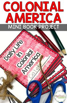 Colonial America Interactive Notebook and Mini Unit - 13 Colonies Life History Interactive Notebook, Social Studies Notebook, Social Studies Classroom, Teaching Social Studies, Social Studies Activities, Interactive Notebooks, Teaching Us History, World History Lessons, American History Lessons