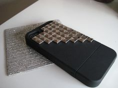 I love this studded iphone case! I tempted to buy it even though I still have my Blackberry!!