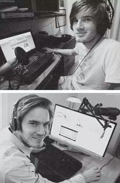 PewDiePie: then and now it's like seaweed and then ahhhhhh