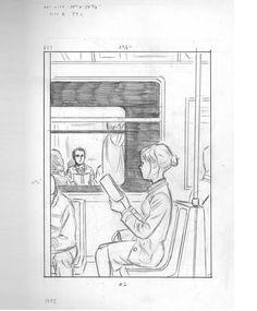 Train Sketch