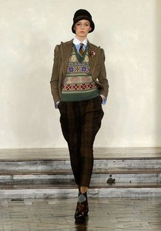 Period drama's on every tv channel having a big impact on fashion. Loving Ralph Lauren's 30's vintage look...