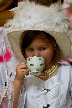 Child's Victorian Tea Party, photography by Vicki Arnold