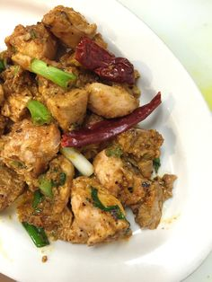 Nepali Chicken Choela Chowela
