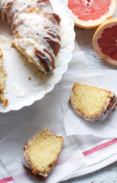 Glazed Grapefruit Bundt Cake - omg i don't even really like grapefruit but this sounds soo good.