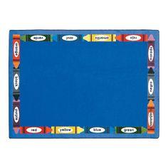 Bilingual Colors® Classroom Rug - OrientalTrading.com