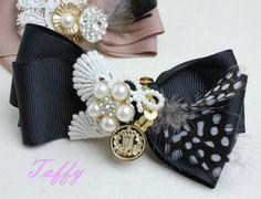 裝飾色帶瓦萊塔TBH0002 - 棉花珍珠項鍊和耳環|店配件銷售太妃糖