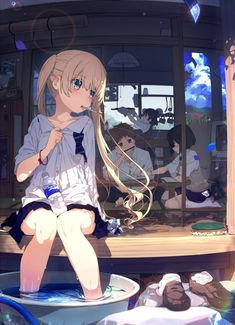 For all kinds of moe art. Especially cute anime girls and boys being cute. Content from anime, manga,. Anime Girl Cute, Beautiful Anime Girl, Kawaii Anime Girl, Anime Art Girl, Manga Girl, Anime Guys, Anime Style, Neko Maid, Super Anime