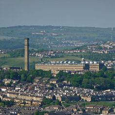 Manningham Mills, from the Horton Bank Country Park | Flickr - Photo Sharing!