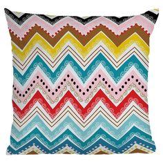 Khristian a howell nolita chevrons throw pillow - deny designs on joss and main