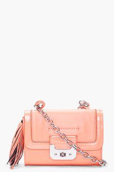Diane von Furstenberg Melon Harper purse on ssense.com