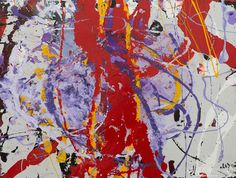 "Mehriban Shamsadinskaya - Alma Arts Agency ""Iris and Poppy Sunshine"", 2014. Oil on canvas 60x80cm"