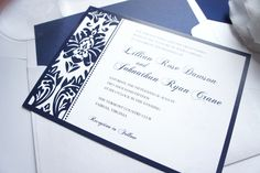 Ribbon and Ink colors available in every color on the color chart! Shown in Navy. Purchase this listing and receive a sample set! We recommend purchasing a sample prior to ordering so that you can vie