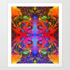 Upon Leaving Art Print by Work the Angle - $17.00