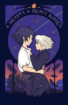 "Howl's Moving Castle art by Matt Dearden ""His heart's really quite soft!"" - Calcifer, Howl's Moving Castle by Diana Wynne Jones Studio Ghibli Films, Art Studio Ghibli, Art Anime, Anime Kunst, Anime Music, Manga Anime, Totoro, Tokyo Ghoul, Howls Moving Castle Wallpaper"
