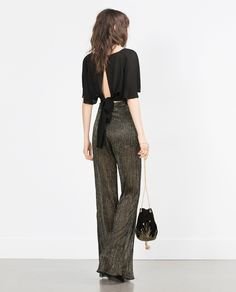 CROPPED STUDIO TOP - View all - Tops - WOMAN | ZARA Turkey