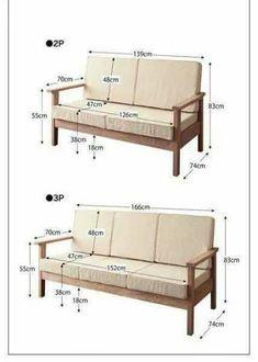 Wooden Sofa Designs, Wooden Sofa Set, Wooden Armchair, Wood Sofa, Sofa Furniture, Pallet Furniture, Furniture Plans, Furniture Design, Garden Furniture