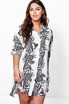 Plus Tamsin Oversized Shirt
