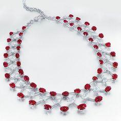 Edmond Chin ruby & diamond necklace Courtesy of Christie's
