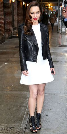 Emilia Clarke - Love her style & hair & everything about her because she's perfect.